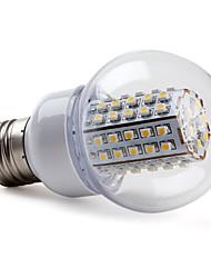 preiswerte -2800lm E26 / E27 LED Kugelbirnen G60 66 LED-Perlen SMD 3528 Warmes Weiß 220-240V