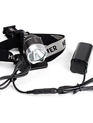 baratos Faróis-Lanternas LED / Lanternas de Cabeça LED 1200 lm 3 Modo Iluminação Ciclismo