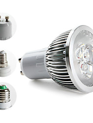 preiswerte -3000lm E14 GU10 E26 / E27 LED Spot Lampen MR16 3 LED-Perlen Hochleistungs - LED Warmes Weiß 85-265V