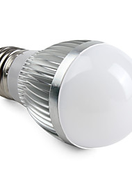 3W E26/E27 LED-globepærer A50 15 SMD 5630 260 lm Varm hvid V