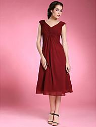 YUKIKO - Vestido de Damas em Chifon e Cetim