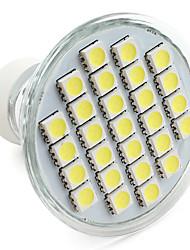 preiswerte -1pc 3.5 W 250-300 lm GU10 LED Spot Lampen 27 LED-Perlen SMD 5050 Warmes Weiß / Kühles Weiß / Natürliches Weiß 220-240 V