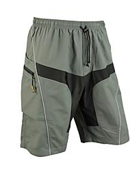 SANTIC Herrn Fahhrad Gepolsterte Shorts Shorts/Laufshorts Unten Rasche Trocknung tragbar Atmungsaktiv 3D Pad Elasthan Polyester Patchwork