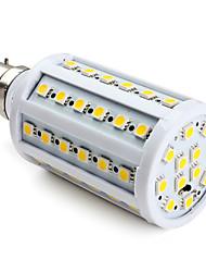 lâmpadas de milho conduzidas b22 t 60 smd 5050 800lm branco quente 2800k