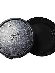 fd cuerpo de la cámara y la tapa del objetivo trasero para Canon AE-1 a1 programa AV-1-1 F1 al t50 t70