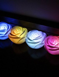 Wedding Décor LED Rose Favors (Set of 4 in Assorted Colors)