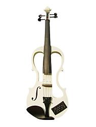 Недорогие -тимофеевка - (ev602) 4/4 части черного электрическая скрипка с случаем / канифоль / кабель / разъем для наушников / аккумулятор (многоцветные)