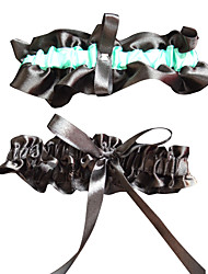 baratos -Liga de casamento de poliéster com fita adesiva de casamento estilo elegante clássico