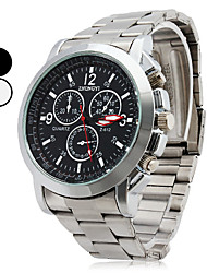 cheap -Men's Wrist watch Quartz Casual Watch Alloy Band Charm Silver