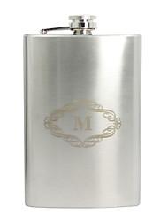 Groom Groomsman Stainless Steel Hip Flasks Wedding Birthday Wedding Gifts