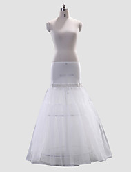 cheap -Wedding Special Occasion Slips Polyester Spandex Floor-length A-Line Slip With