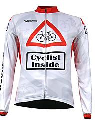 economico -Kooplus Per uomo Manica lunga Maglia da ciclismo Bicicletta Maglietta/Maglia, Tenere al caldo, Asciugatura rapida, Traspirante