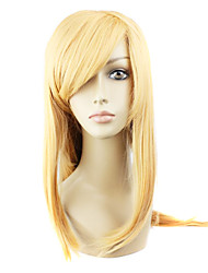 cheap -Cosplay Wigs Sword Art Online Asuna Yuuki Anime Cosplay Wigs 36 inch Heat Resistant Fiber Women's Halloween Wigs