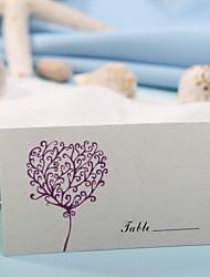 baratos -coloque cartões e os titulares de cartão do lugar - cópia do coração (conjunto de 12)