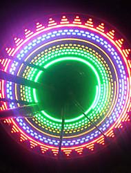 Недорогие -Светодиодная лампа Велосипедные фары Колесные огни колесные огни Велосипедные фонари Горные велосипеды Велоспорт Водонепроницаемый Безопасность Портативные AAA Велосипедный спорт / IPX-4