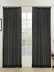 cheap -Sheer Curtains Shades Stripe Polyester Jacquard