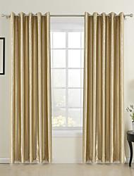 Due pannelli Trattamento finestra Neoclassicismo Sala da pranzo Tessuto sintetico 100% Tessuto sintetico Materiale tende tendeDecorazioni