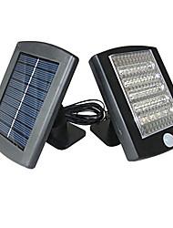 36 - LED White Solar Motion Sensor Security Lights