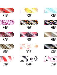 16 Unha Arte Decoração strass pérolas maquiagem Cosméticos Designs para Manicure