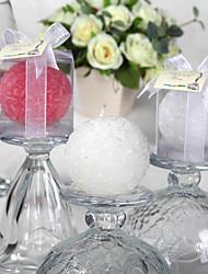 baratos -linda vela bola rosa (mais cores) elegantes favores do casamento