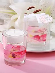 Недорогие -Красивые цветочные пользу свечей
