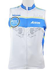 Kooplus Gilet de Cyclisme Sans Manches Homme Sans Manches Vélo Gilet/Sans Manche Hauts/Tops Séchage rapide Zip frontal Vestimentaire
