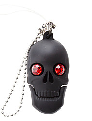 cheap -16GB USB disk Shining Skull USB 2.0 Flash Drive