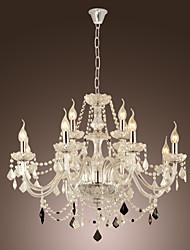 CATONSVILLE - Lampadario a candela in vetro