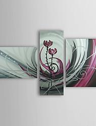 Недорогие -Картина маслом, ручная роспись, комплект из трех единиц