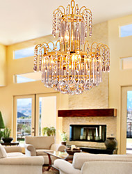 Luxury Crystal Chandelier with 7 Lights