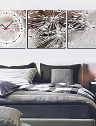 Недорогие -современного сценического часы стены в холст 3шт k0027