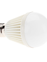 7W E26/E27 LED Globe Bulbs A60(A19) 7 High Power LED 750lm Natural White 6000K AC 100-240V