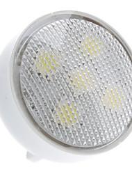 gu4 (mr11) spotlight conduzido 5 smd 5050 100lm branco natural 6000k ac 220-240v