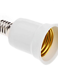 cheap -E14 to E27 LED Bulbs Socket Adapter High Quality Lighting Accessory