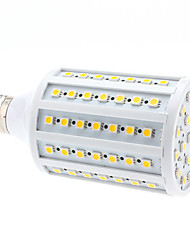 billige -680lm E26 / E27 LED-kolbepærer 102 LED Perler SMD 5050 Varm hvid 220-240V