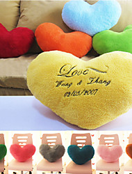 cheap -Gifts Bridesmaid Gift Personalized Heart Design Arm Pillow (More Colors)
