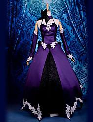 Недорогие -Вдохновлен Fate/zero Saber Lily видео Игра Косплэй костюмы Косплей Костюмы Пэчворк Кофты