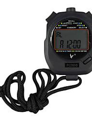 Schwarz Shockproof Wearable Freien Stoppuhr mit Countdown-Timer-Funktion