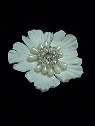 Недорогие -кристалл имитация жемчужина атласные факсимиляторы цветы головной убор элегантный стиль