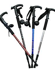 cheap -3 Folding T Type Hiking Poles