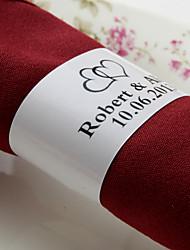 personalizirani papirni prsten od suncokreta - slatka ljubav (set od 50) vjenčanja