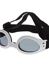 Недорогие -Кошка Собака Солнечные очки Одежда для собак Белый Красный Синий пластик Костюм Назначение Весна & осень