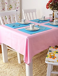 Beige / Blue / Brown / Green / Pink / Purple / Red / Yellow / Orange 100% Cotton Table Cloths