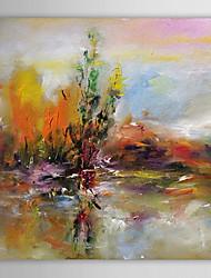 Dipinta a mano Astratto Un Pannello Tela Hang-Dipinto ad olio For Decorazioni per la casa
