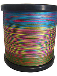 cheap -1000M / 1100 Yards PE Braided Line / Dyneema / Superline Fishing LineGreen / Orange / Yellow / Purple / Fuchsia / Red / Blue / Assorted