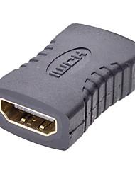 Недорогие -HDMI F / F адаптер для v1.3 / v1.4 (HD-008-BK)