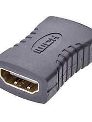 baratos -HDMI f / f adaptador para v1.3 / v1.4 (hd-008-bk)