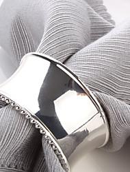 Недорогие -Набор из 4 Роскошный Современный дизайн Кольца Цинк Салфетка сплава