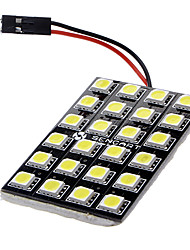 cheap -T10 BA9S Festoon Car White 12W SMD LED 6000-6500 Reading Light License Plate Light Door lamp