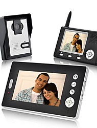 KONX® Wireless Video Door Phone Dual Receivers Waterproof Night Vision Wireless Unlock